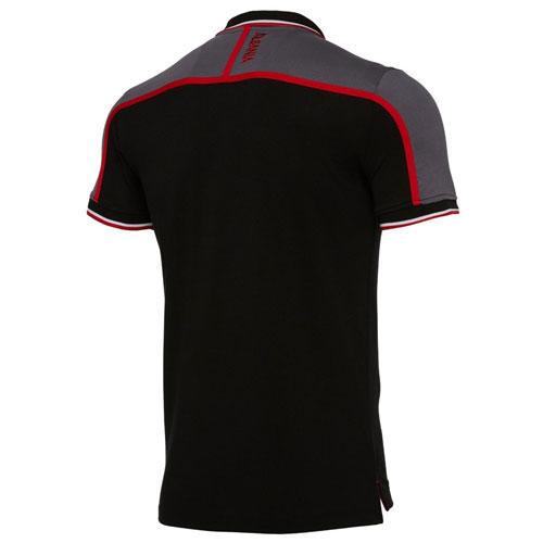 albanien-polo-black-b