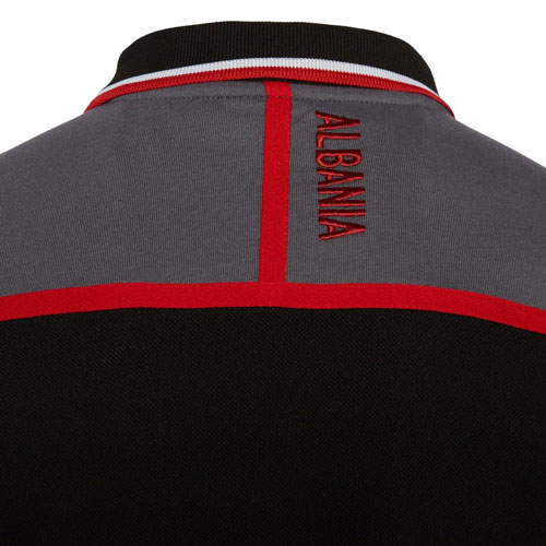 albanien-polo-black-r