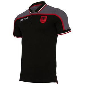 albanien-polo-black