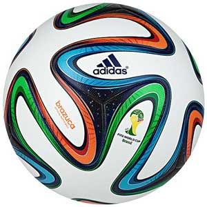 Fussball Brazuca WM 2014 in Brasilien