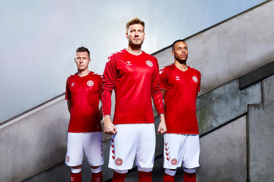 Dänemark 2018 Worldcup Kit
