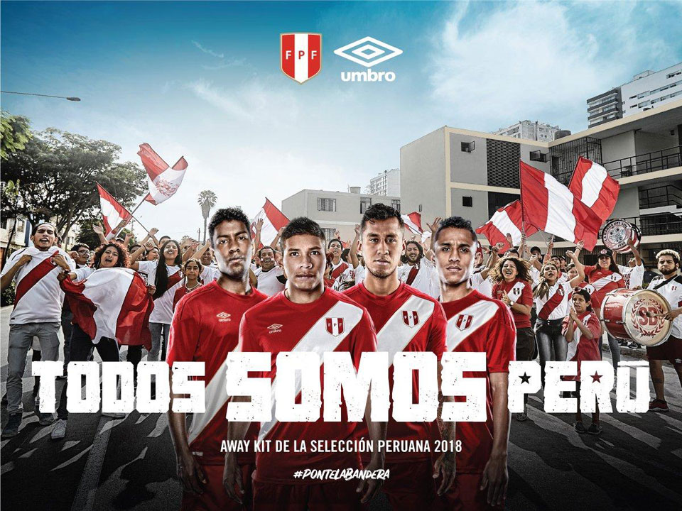 Peru 2018 Worldcup Kit