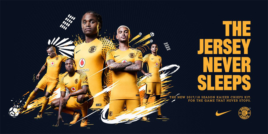 Kaizer Chiefs home Kit