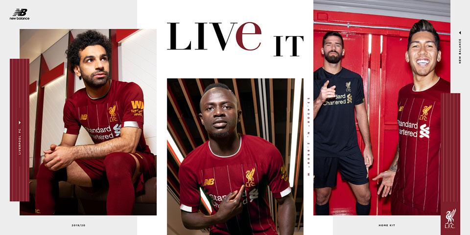 Liverpool FC Kit 2019-20