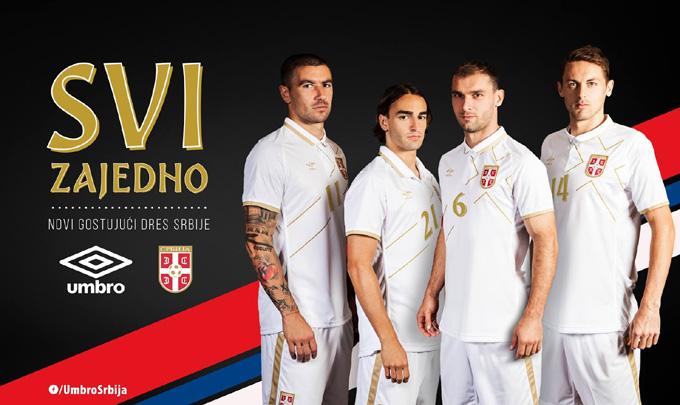 Serbien away Kit