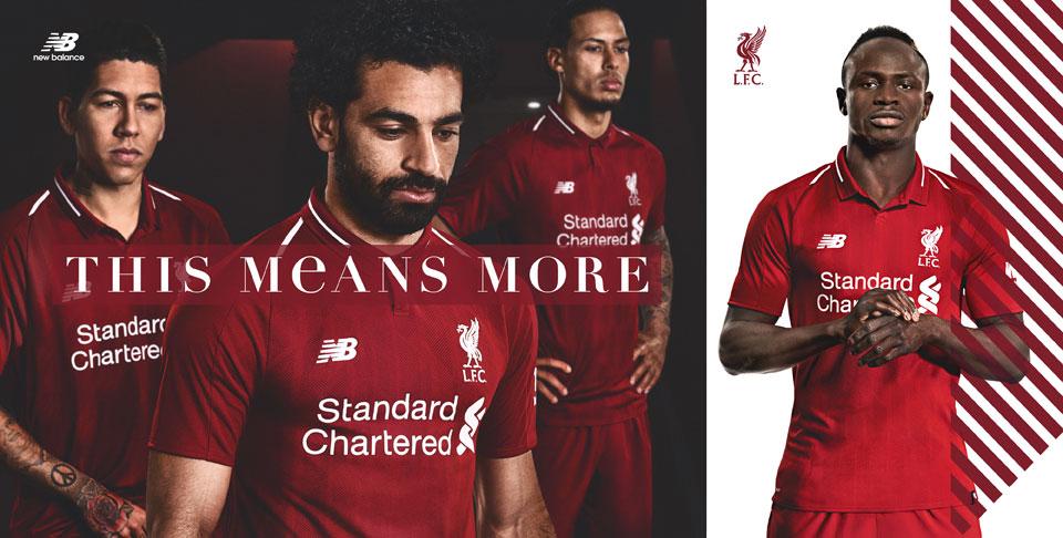 Liverpool FC Kit 2018-19