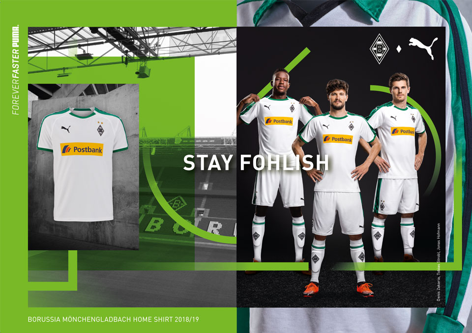 Borussia Mönchengladbach 2018/19 Homekit