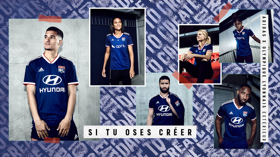 Olympique Lyon 2019/20 Kit