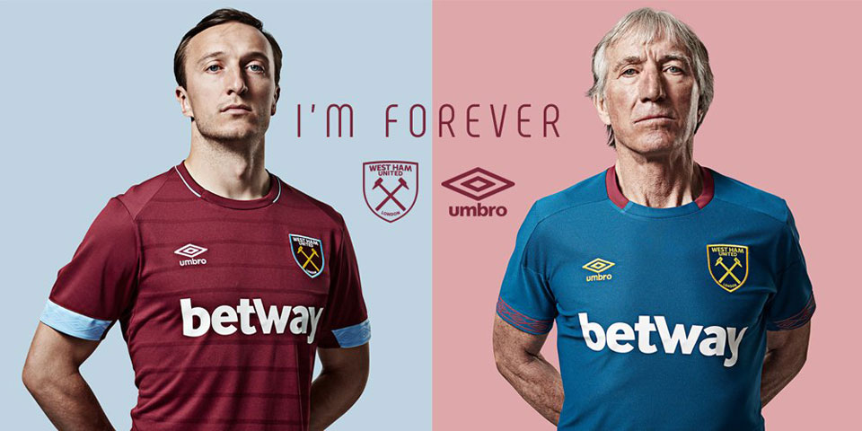 West Ham United 2018/19 Home Away Kits