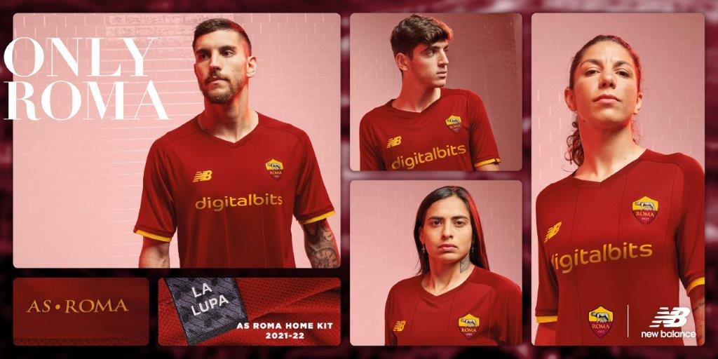 AS Roma Homekit 2021/2022