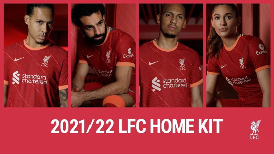 Liverpool FC Kit 2021-22