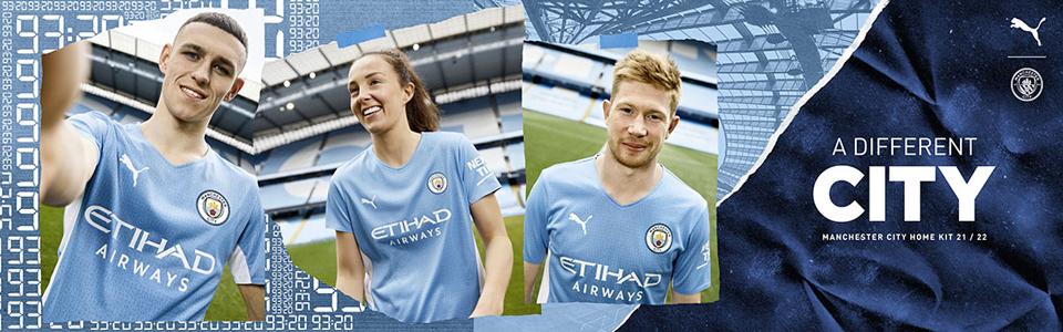Manchester City home Kit 2022