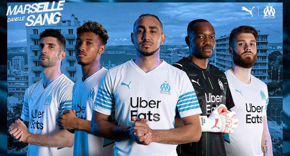 Olympique Marseille homekit 2021