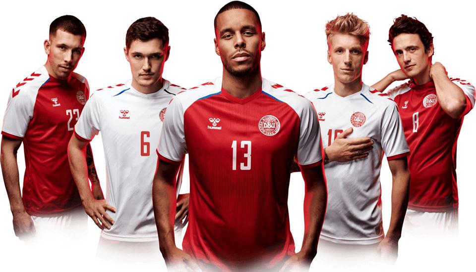 Dänemark 2122 WM Kit