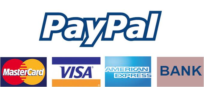 per PayPal bezahlen mit Bankkonto oder Kreditkarten
